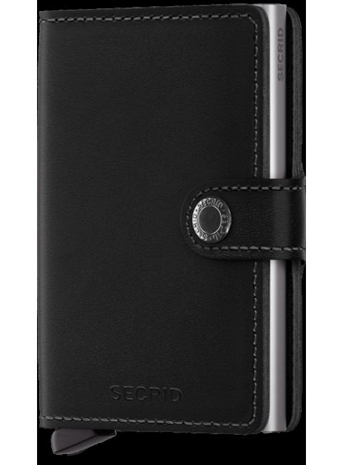 SECRID Miniwallet Orginal Black RFID portfel