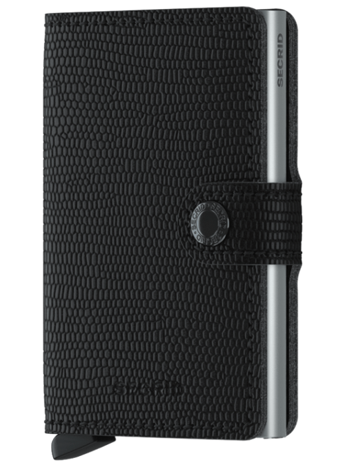 SECRID Miniwallet Rango Black RFID portfel