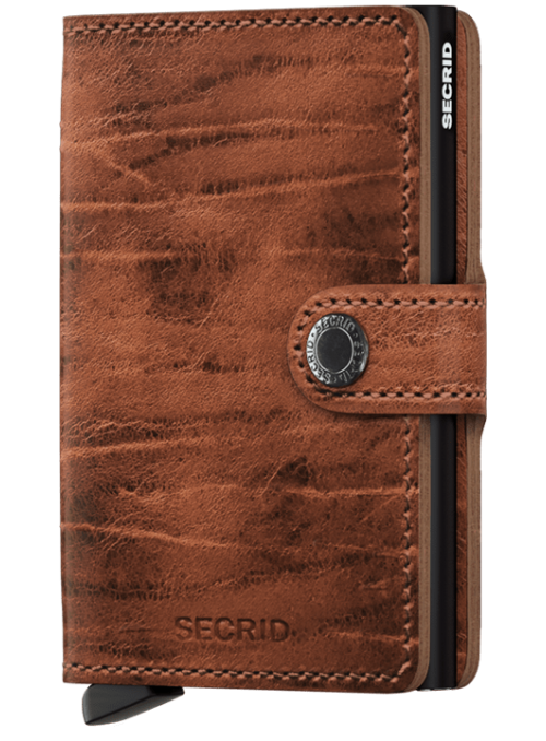 SECRID Miniwallet MDM Whiskey collection RFID portfel
