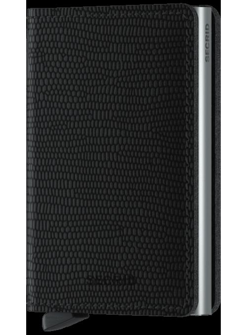 SECRID Slimwallet Rango Black RFID portfel