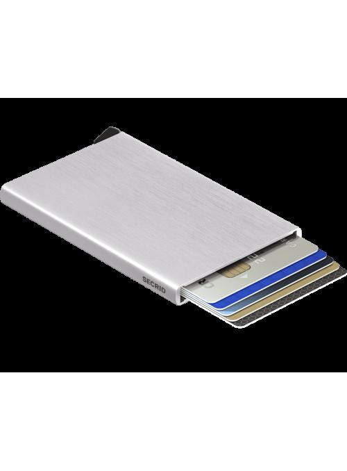 SECRID Cardprotector Brushed Silver RFID etui na karty
