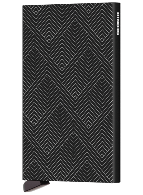 SECRID Cardprotector Laser Structure Black RFID etui na karty