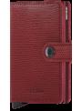 SECRID Miniwallet Rango Red - Bordeaux RFID portfel
