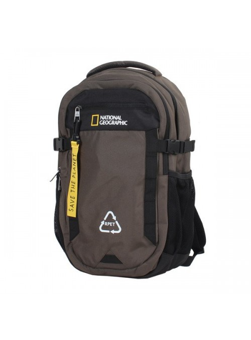 Plecak dwukomorowy National Geographic NATURAL 15780 khaki
