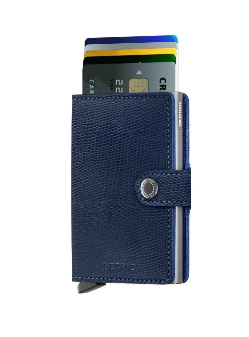SECRID Miniwallet Rango - Titanium RFID portfel