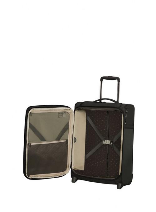 Samsonite Airea walizka kabinowa poszerzana na 2 kołach Top Pocket