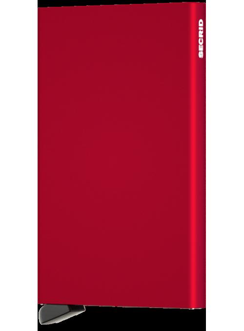 SECRID Cardprotector Red RFID etui na karty