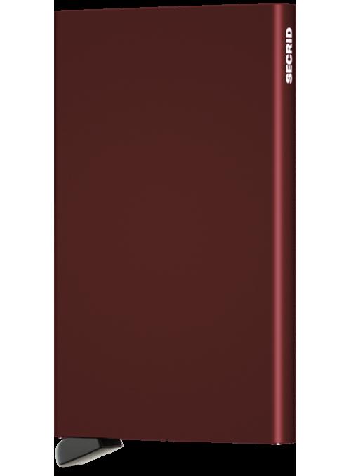 SECRID Cardprotector Bordeaux RFID etui na karty