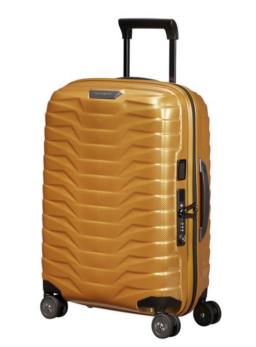 Samsonite Proxis LUX walizka kabinowa z poszerzeniem i portem USB
