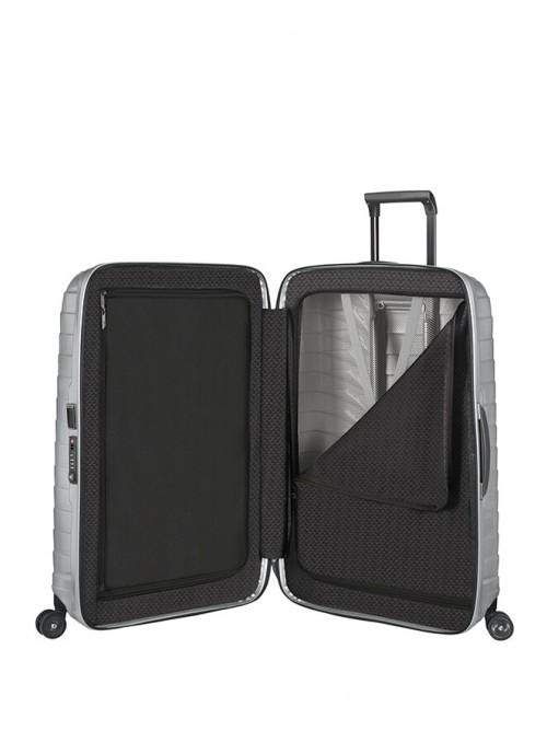 Samsonite Proxis Silver walizka średnia