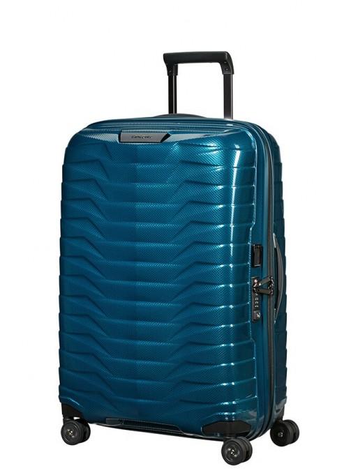 Samsonite Proxis Petrol Blue walizka średnia