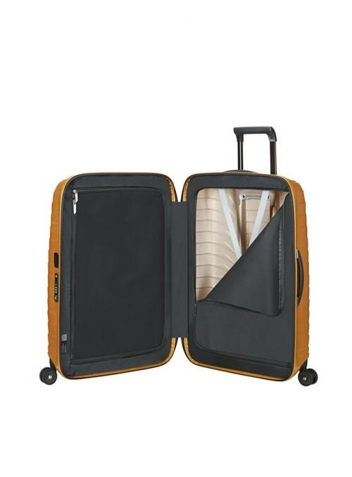 Samsonite Proxis Honey Gold walizka średnia