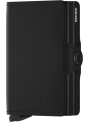 SECRID Twinwallet Matte Black RFID portfel