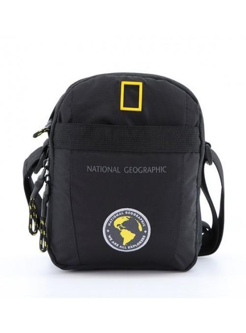 Torba na ramię National Geographic New Explorer N16987 czarna