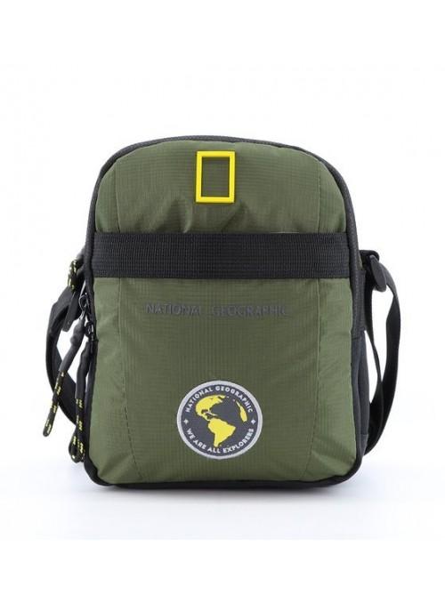 Torba na ramię National Geographic New Explorer N16987 khaki