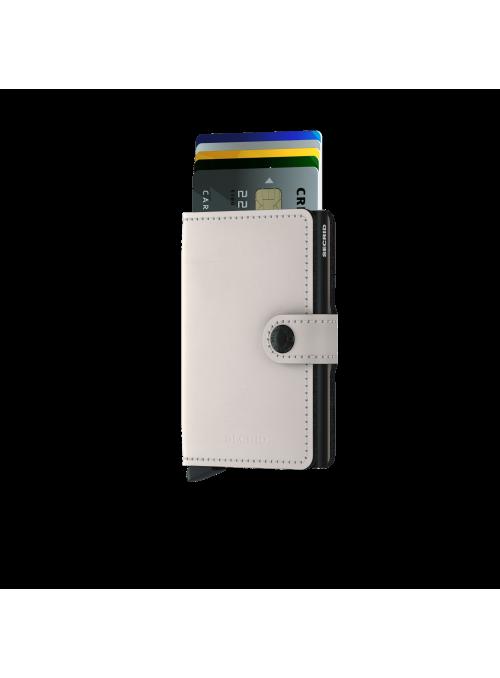 SECRID Miniwallet Matte Chalk RFID portfel