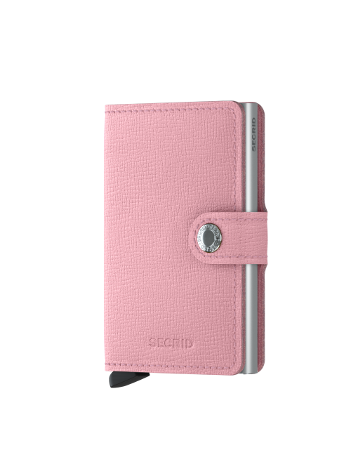 SECRID Miniwallet Crisple Pink RFID portfel Damski