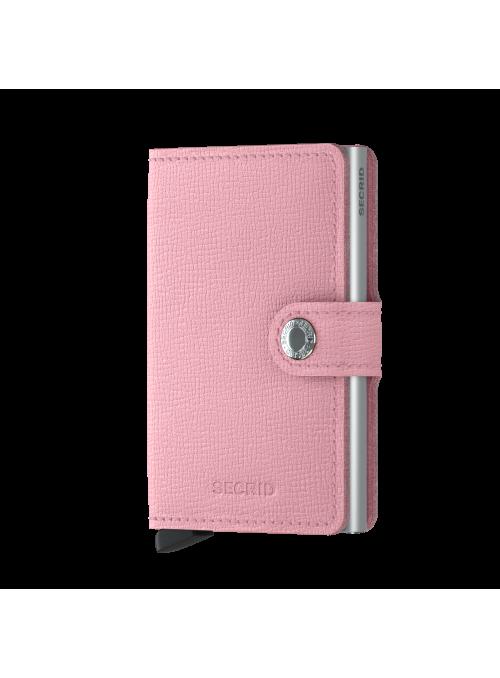 SECRID Miniwallet Crisple Pink RFID portfel