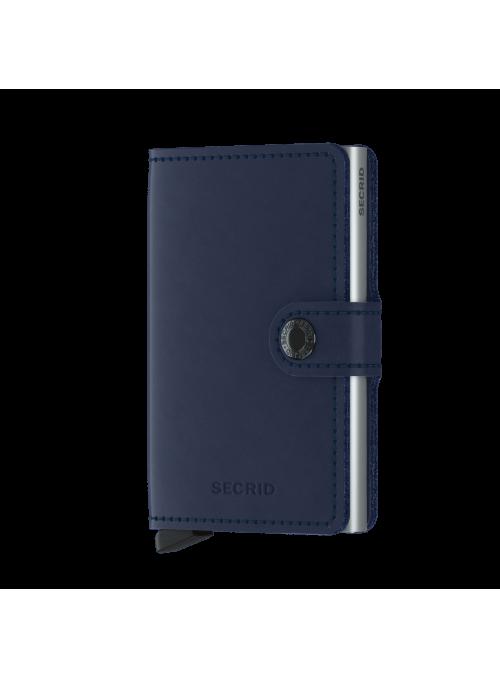 SECRID Miniwallet Orginal Navy RFID portfel