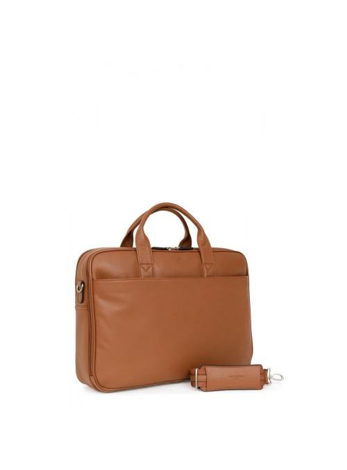 "Hexagona Confort elegancka torba skórzana na laptop 15,6"""