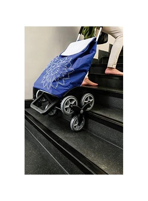 Gimi Tris Wózek na zakupy sześciokołowy