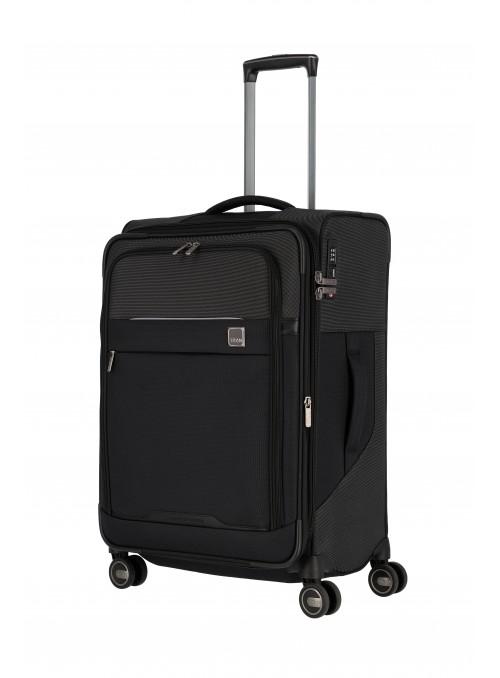 Titan Prime walizka średnia z poszerzeniem na 4 kołach