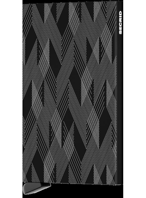SECRID Cardprotector Laser Zigzag Black RFID etui na karty