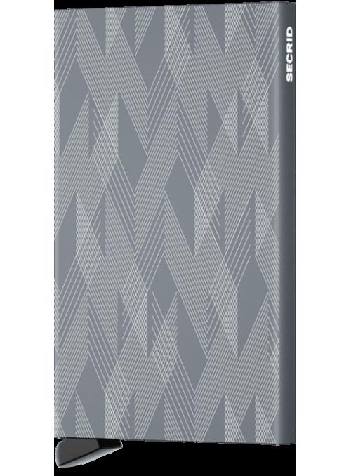 SECRID Cardprotector Laser Zigzag Titanium RFID etui na karty