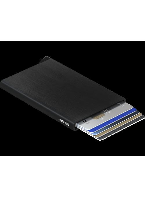 SECRID Cardprotector Brushed Black RFID etui na karty
