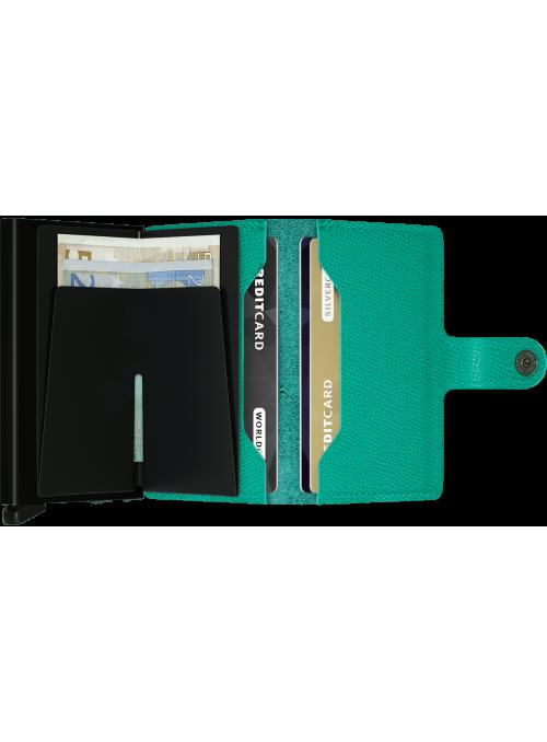 SECRID Miniwallet Crisple Emerald RFID portfel Damski