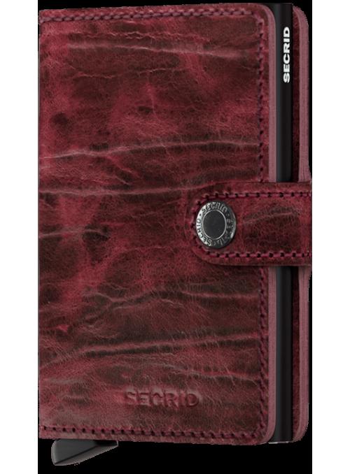 SECRID Miniwallet Whiskey MDM collection RFID portfel