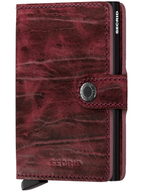 SECRID Miniwallet Bordeaux MDM collection RFID portfel