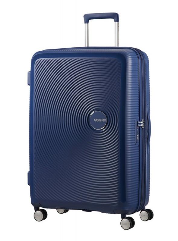American Tourister Soundbox Walizka średnia na 4 kołach z poszerzeniem